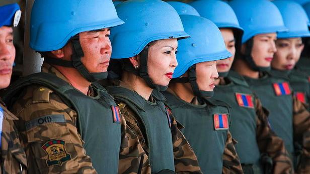 Dragen tæmmer sig selv: Kinas fredsbevarende indsats