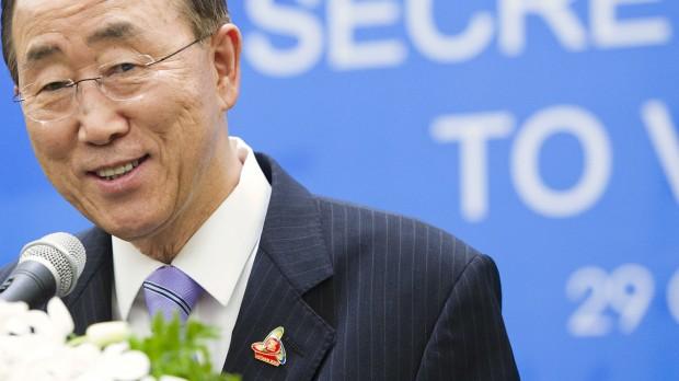 Ban Ki-Moon får fem år mere i FN: Er han mere sekretær end general?