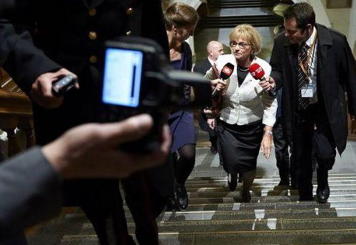 Pia Kjærsgaard: Det er, som om Thorning leger regering