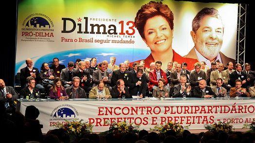 Brasilien: Dilma træder ud af Lulas skygge