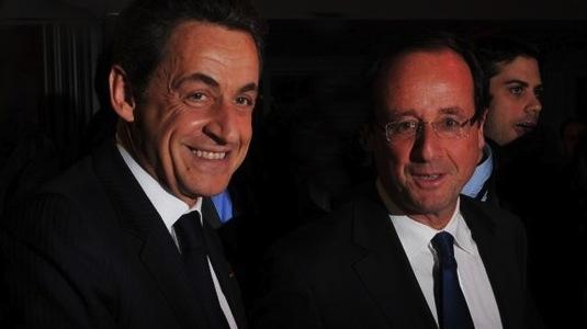 Fransk præsidentvalg: Sarkozy og Hollande vil føre samme EU-politik