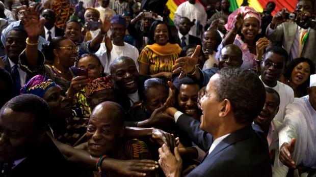 Antiamerikanisme i Afrika? Obama har skuffet, men han har stadig rockstjernestatus
