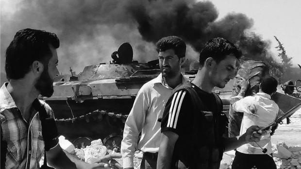 Guardian-journalist i Syrien: Militæret kollapser indefra