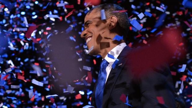 Reportage fra valgaftenen: Obama har skuffet sig fri for høje forventninger