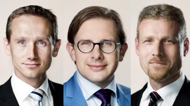 UGEN I POLITIK: Jensen, Ammitzbøll, Behnke, Messerschmidt, Aaen