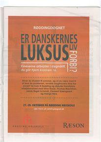 Er danskernes luksusliv forbi?