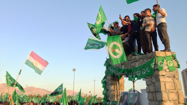 Kurdistan: Ny, afgørende kurs i regionen