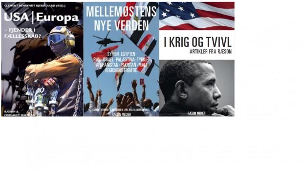 Overblik: RÆSONs bøger om Mellemøsten og USA
