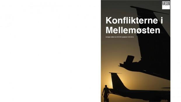 """Ny udgave af ebogen """"Konflikterne i Mellemøsten"""""""