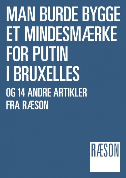 """Ebog: """"Man burde bygge et mindesmærke for Putin i Bruxelles"""" (2014)"""