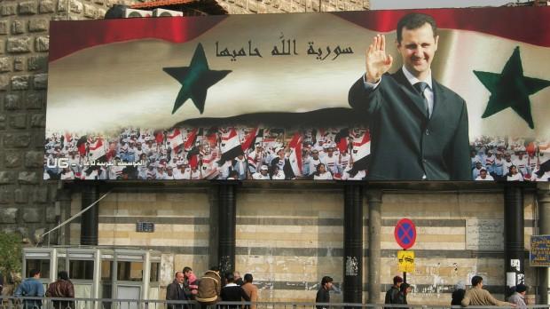 Syrien:  Al-Assads propagandakrig