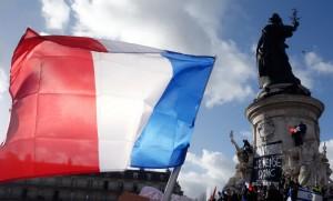 March for Republikken: Højlydt og stille