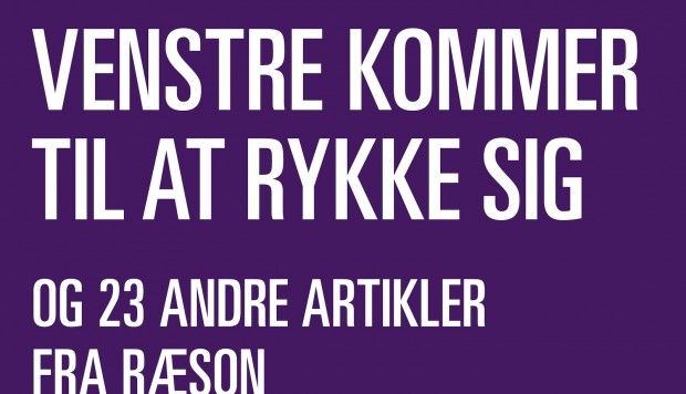 Ny ebog fra RÆSON om dansk politik: Venstre kommer til at rykke sig