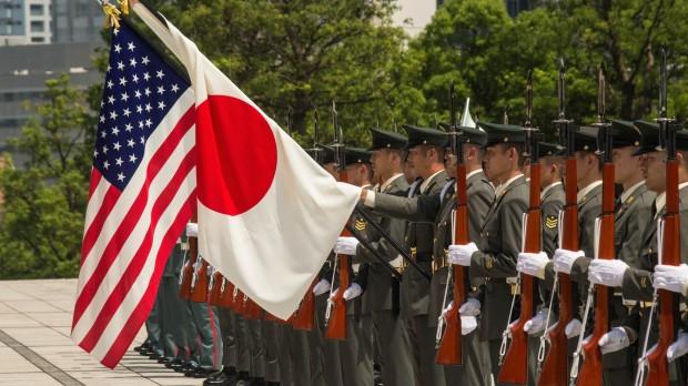 Japan:  imødekommer forsigtigt et pres fra USA om mere aktiv forsvarspolitik