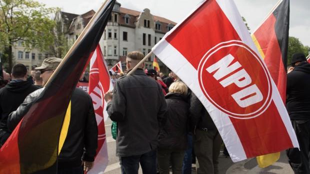 TYSKLAND: Bør man forbyde det højreekstreme parti NPD?