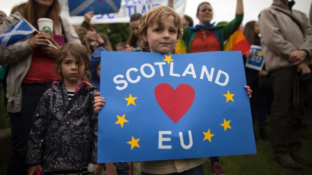 BREXIT: Sådan forbliver Skotland i EU – tag lære af Grønland