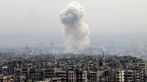 Faysal Itani: USA vil intet gøre ved faldet af Aleppo