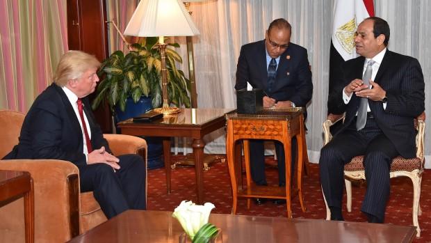 Derfor er Egypten glad for Trump – og ikke så optaget af Syrien