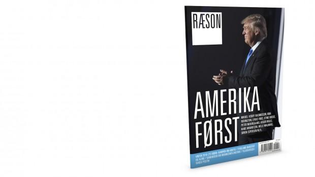 I kioskerne idag:Amerika FørstDet nye nummer af RÆSONUdvidet til 72 sider
