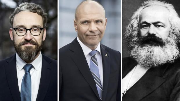 Ole, Søren og frygten for socialismenKommentar af Niels Jespersen