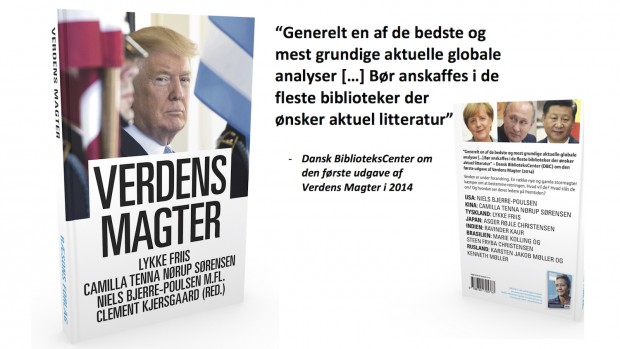 Få den nye bog fra RÆSON inden jul: Verdens Magter (320 sider) – og vælg en ekstra bog til 99 kr.