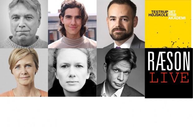 Testrup og RÆSON fejrer Grundloven med Mette Bock, Uffe Elbæk, Jacob Bundsgaard, Jens Philip Yazdani, Marie Høgh, Clement Kjersgaard og…