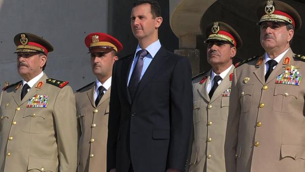 Assad er en kransekagefigur: Her er Syriens reelle magthavere