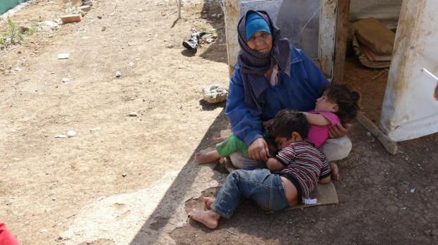 Flygtninge:  De syriske flygtninge svarer nu til 20% af Libanons befolkning