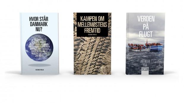 3 aktuelle bøger fra RÆSONs forlag