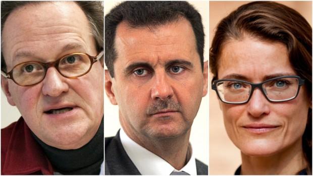 Hvad er Vestens ansvar og vejen frem i Syrien? Debatinterview med Jan Øberg og Trine Christensen (2017)