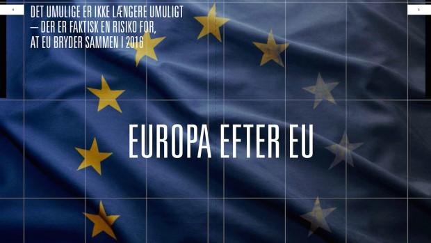 Mikkel Vedby Rasmussen: Europa efter EU