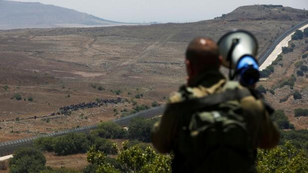 Hans Henrik Fafner: Israel bevæger sig på kanten af den syriske strømhvirvel. Spørgsmålet er, om de falder i?