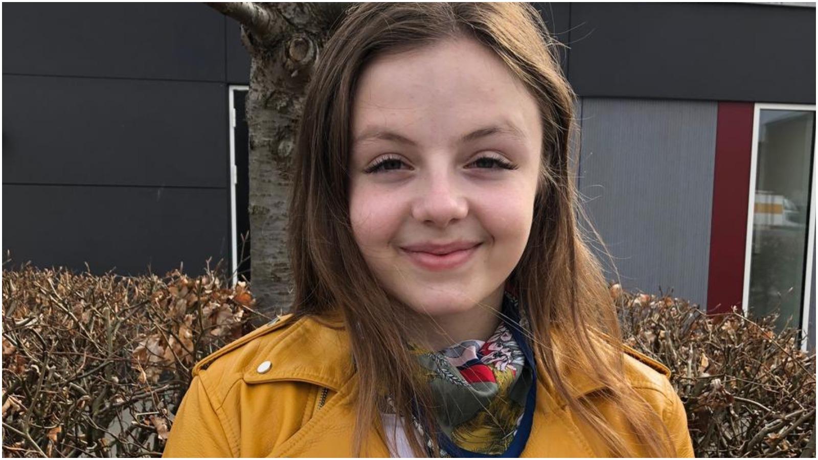 """Sarah Gruszow Bærentzen, formand for eleverne: """"Vi har været alt for gode til at diskutere skoledagens længde og ikke nær så meget skoledagens indhold"""""""