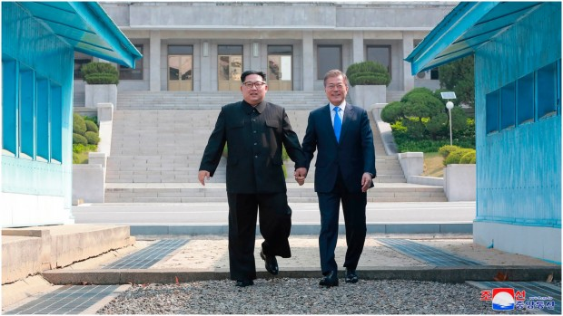 Tidslinje krisen i nordkorea